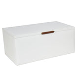 Dulwich Designs Tuscany White/Tan Large Jewellery Box