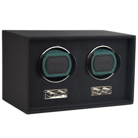 Dulwich Design Double Watch Rotator - Racing Green