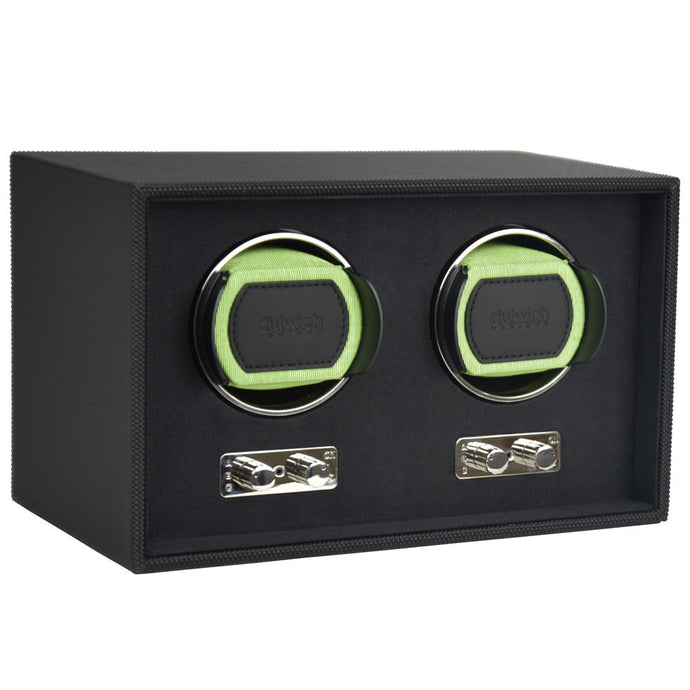 Dulwich Design Double Watch Rotator - Lime Green