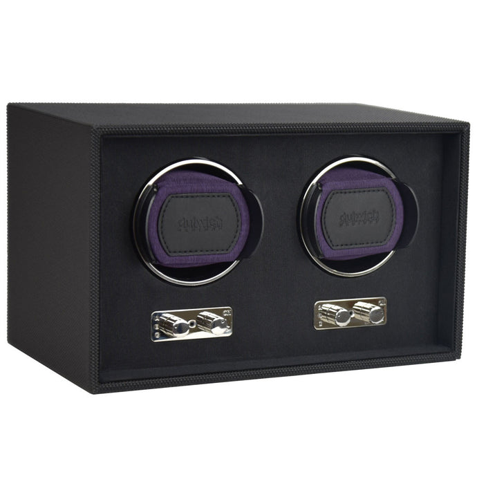 Dulwich Design Double Watch Rotator - Purple