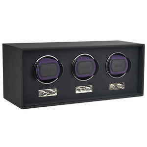 Dulwich Design Triple Watch Rotator - Purple