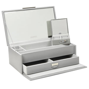 Dulwich Design Grey Extra Large Jewellery Box