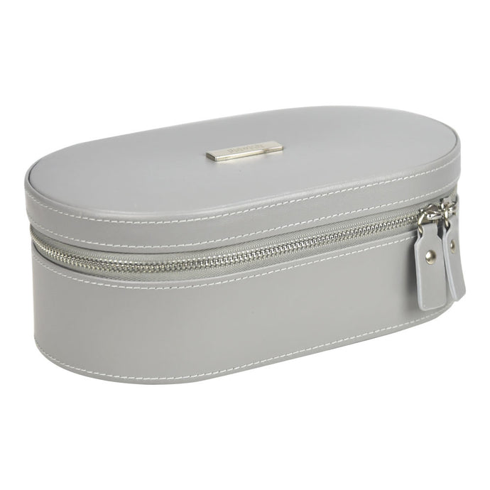 Dulwich Design Grey Large Travel Jewellery Box