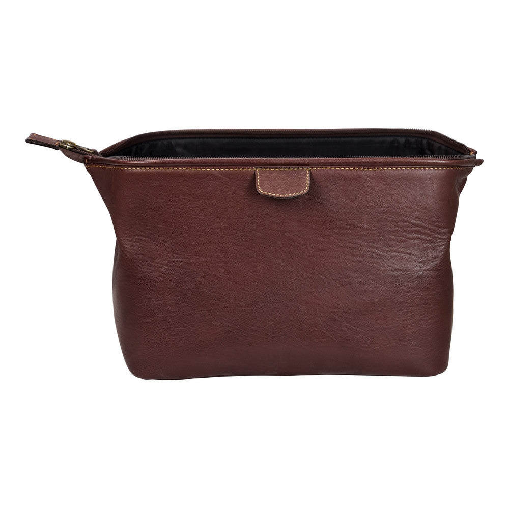 Dulwich Design Brown Wash Bag
