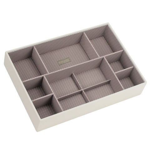 Stackers Vanilla & Mocha Supersize Deep Sectioned Jewellery Tray