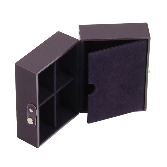 Stackers Purple & Purple Travel Box Tray Insert