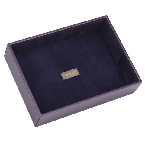 Stackers Purple & Purple Classic Deep Open Jewellery Tray