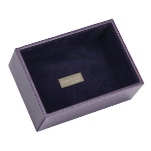 Stackers Purple & Purple Mini Deep Open Jewellery Tray