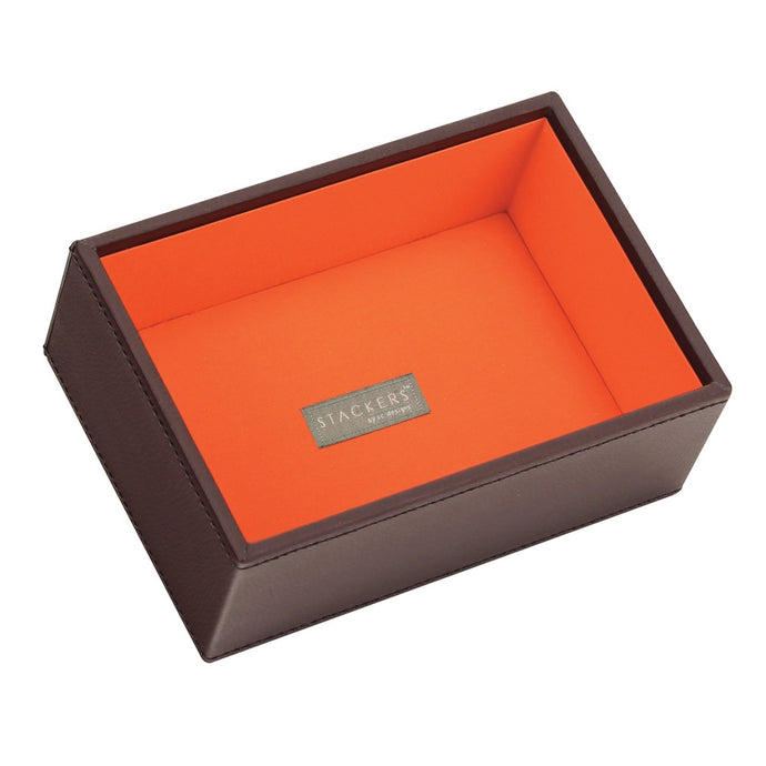 Stackers Chocolate & Brights Mini Deep Open Jewellery Tray