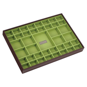 Stackers Chocolate & Brights Supersize 41 Section Jewellery Tray