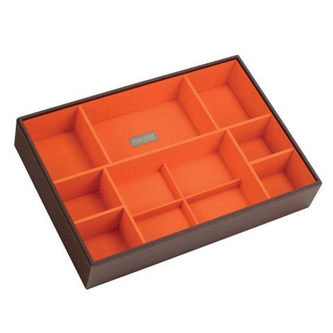 Stackers Chocolate & Brights Supersize Deep Sectioned Jewellery Tray