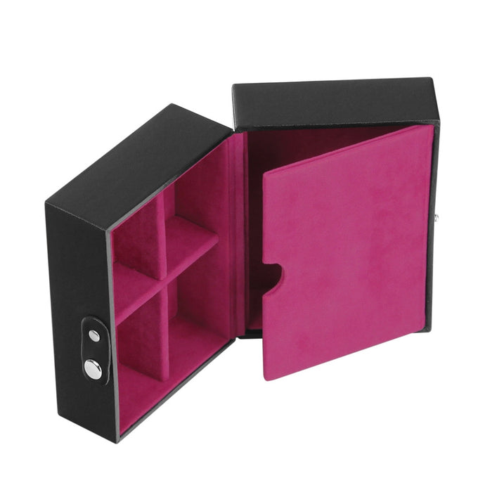 Stackers Black & Fuchsia Travel Box Tray Insert