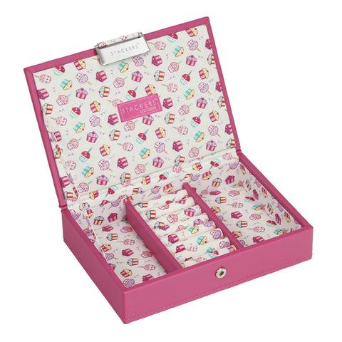 Stackers Junior Cupcake Lidded Jewellery Tray