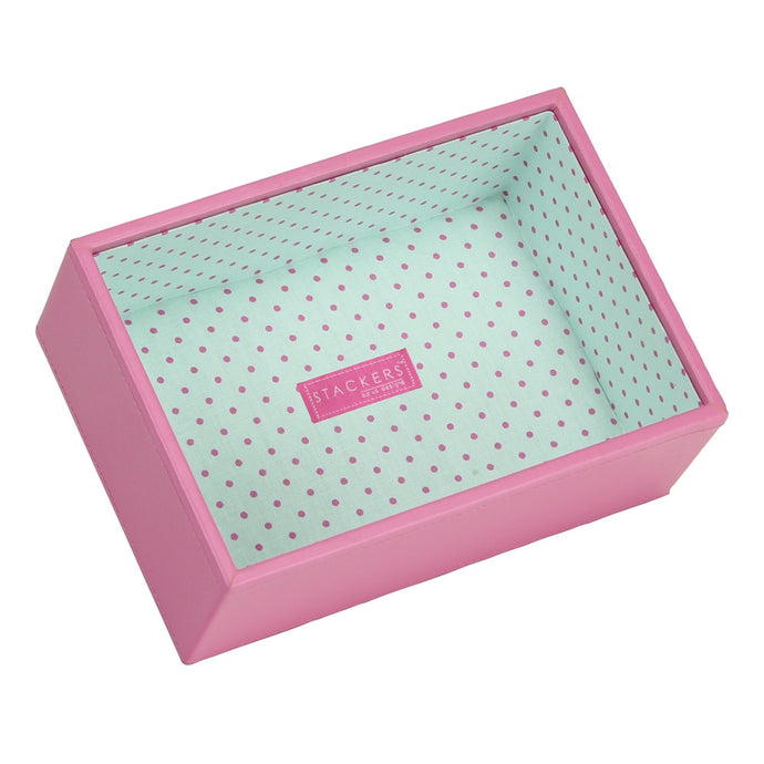 Stackers Junior Polka Dot Deep Open Jewellery Tray