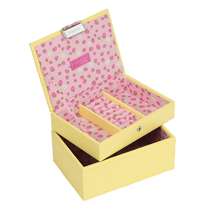 Stackers Junior Strawberry Set of 2 Jewellery Trays