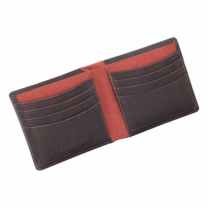 Jacob Jones Burnt Orange Lining Gentlements Wallet