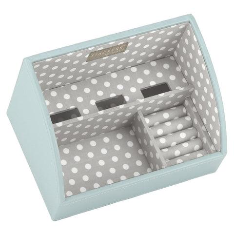 Stackers Duck Egg & Grey Mobile Friendly Valet Tray