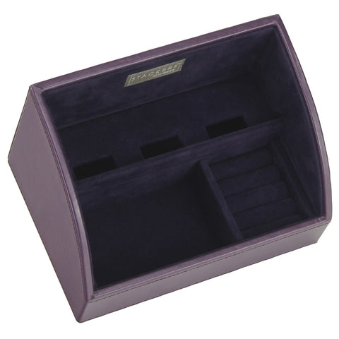 Stackers Purple & Purple Set of 2 Mobile Friendly Trays