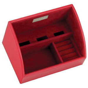 Stackers Red & Red Set of 2 Mobile Friendly Trays