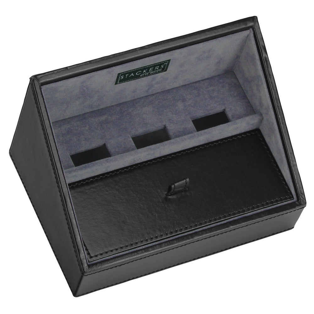 Stackers Gents Exec Black Valet Tray for Mobile Phones