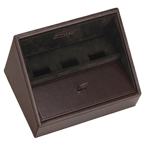 Stackers Gents Exec Brown Valet Tray for Mobile Phones