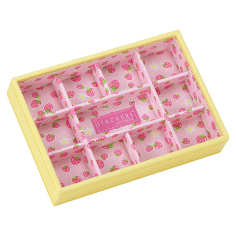 Stackers Junior Strawberry 11 Section Jewellery Tray