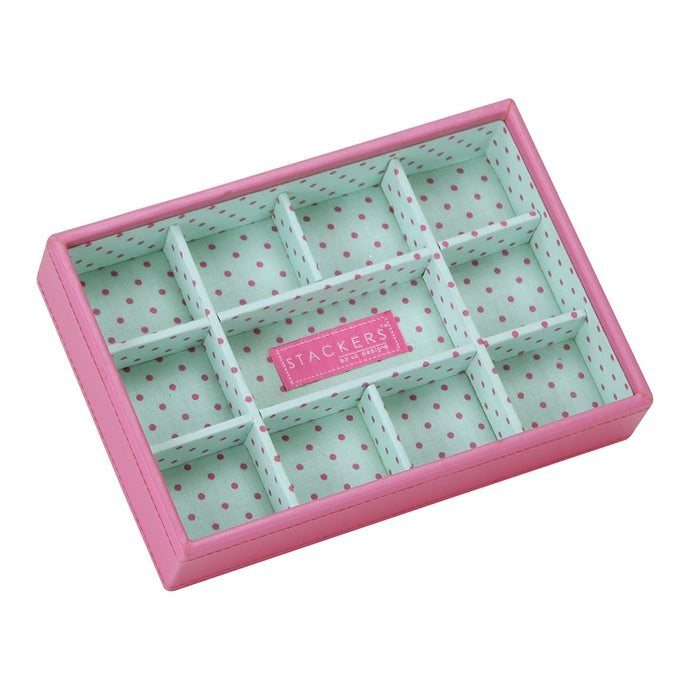 Stackers Junior Polka Dot 11 Section Jewellery Tray