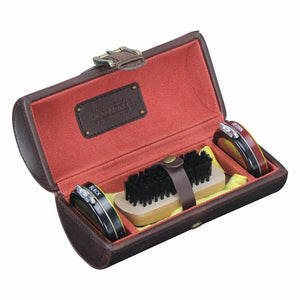 Jacob Jones Burnt Orange Shoe Shine Kit