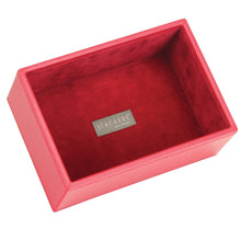 Stackers Red & Red Mini Set of 2 With Wooden Lid Jewellery Trays