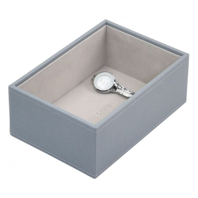 Stackers Dusky Blue Mini Deep Open Jewellery Tray