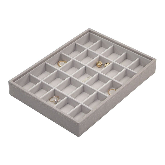 Stackers Taupe Classic 25 Section Jewellery Tray