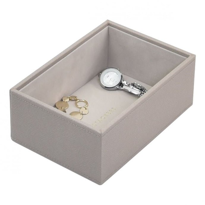 Stackers Taupe Mini Deep Open Jewellery Tray