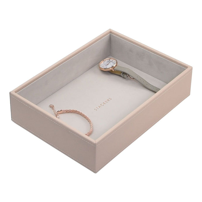 Stackers Blush Pink Classic Deep Open Jewellery Tray