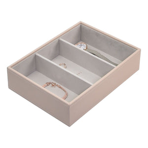 Stackers Blush Pink Classic Set of 3 Jewellery Trays