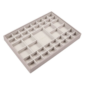Stackers Taupe Supersize Deep Sectioned Jewellery Tray