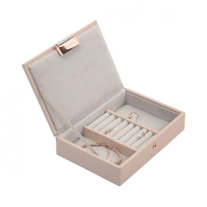 Stackers Blush Pink Mini Set of 2 Jewellery Trays
