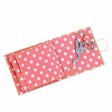 Button It Floral Sewing Needle Wallet (Includes Scissors)