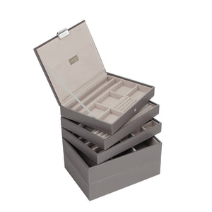 Stackers Set of 5 Mink & Grey Stacker Jewellery Trays