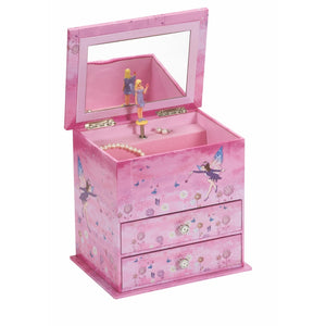 Mele & Co Children's Trixie Purple Fairy Musical Jewellery Box