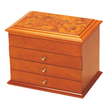 Mele & Co Carol Oriental Rose Wooden Jewellery Box