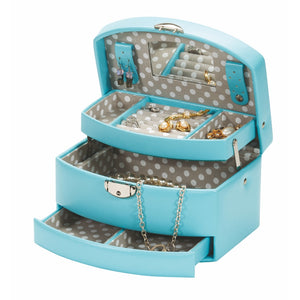 Mele & Co Tula Carribean Sea Jewellery Box