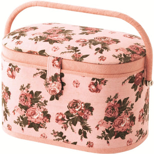 Mele & Co Evelyn Floral Fabric Sewing Box