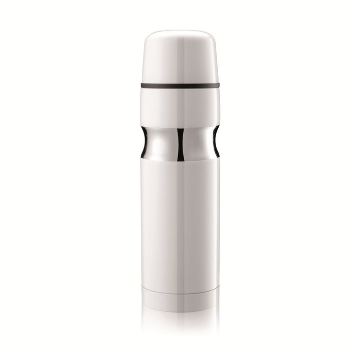 XD Design Robust White Stainless Steel Insulated Thermos Flask