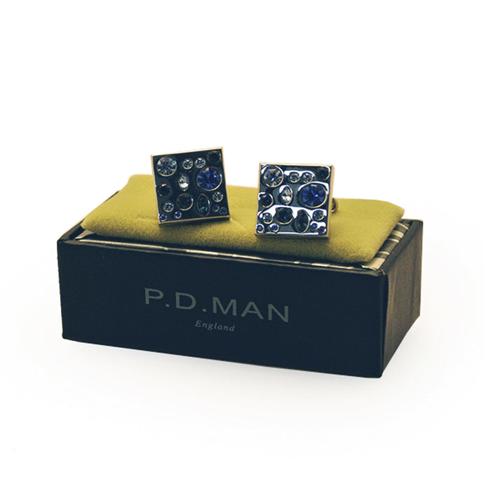 PD Man Blue Cufflinks
