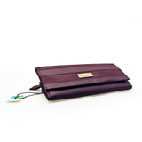 Taurus Ladies Plum Wallet Long
