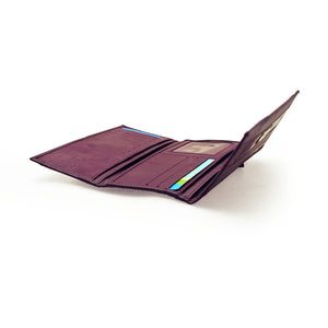 Ladies Plum Wallet Long