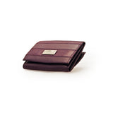 Tauras Plum Ladies Purse With Zip Section