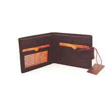 Genuine Leather Dark Brown Men's Wallet