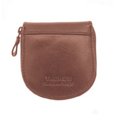 Taurus Genuine Leather Brown Coin Purse