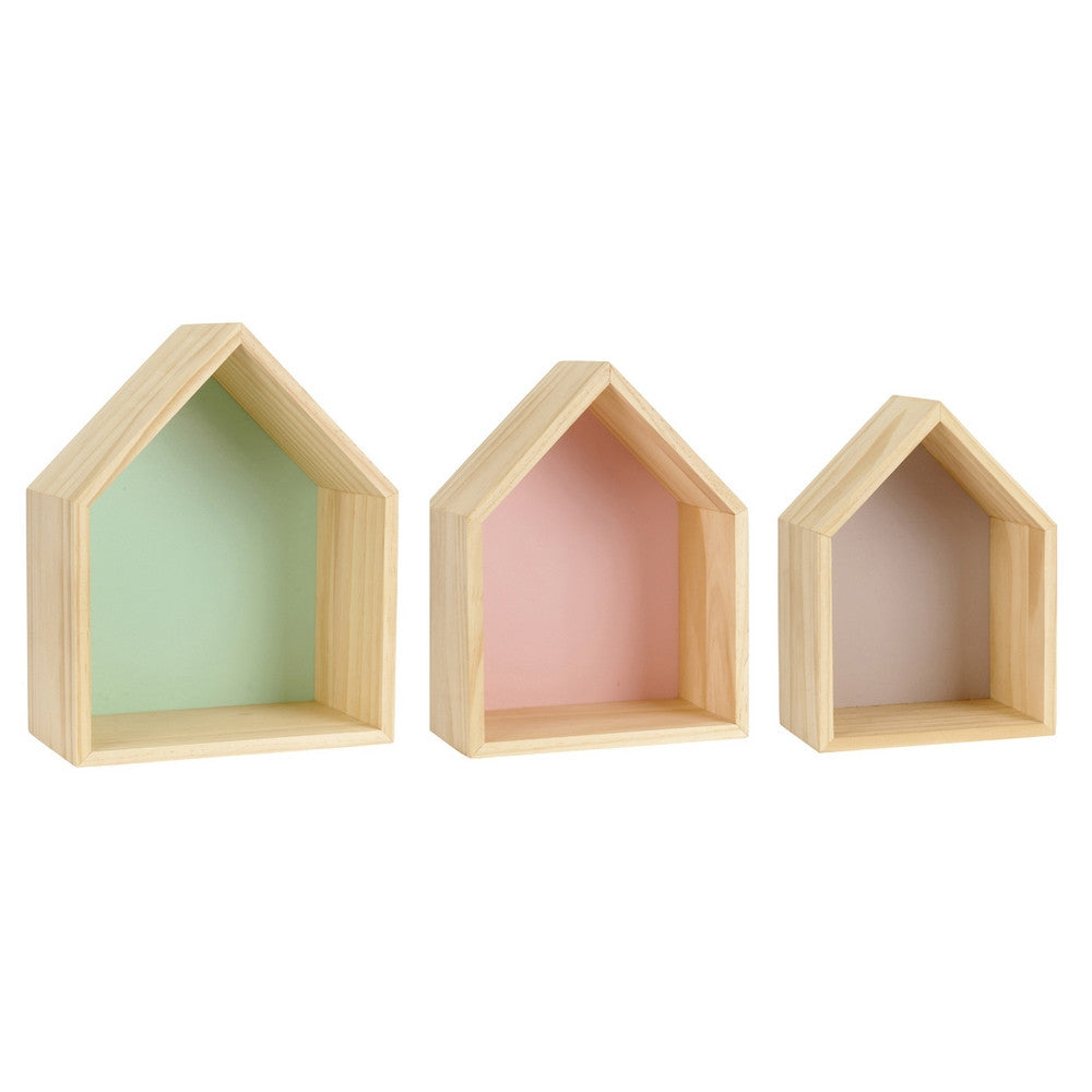 Transomnia Set of 3 House-Shape Display Units